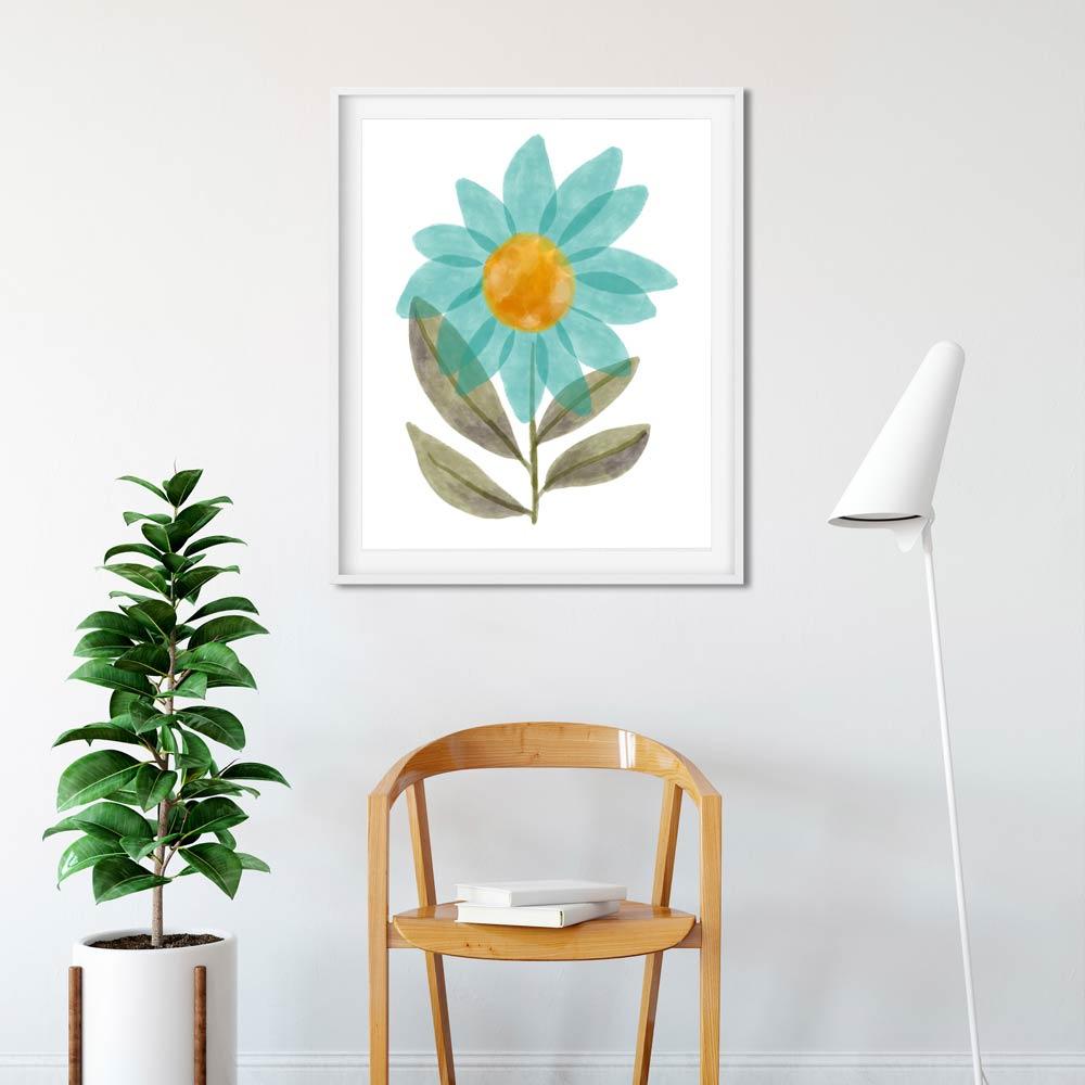Floral printable wall art