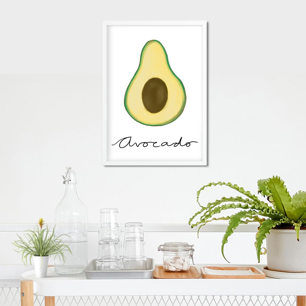 Avocado wall art
