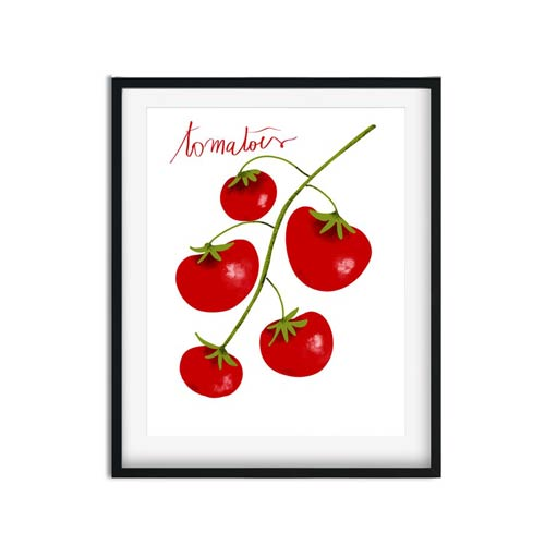 Tomatoes wall art