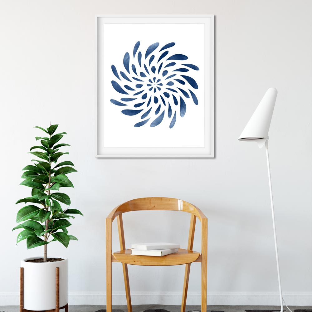 Spinning Mandala art
