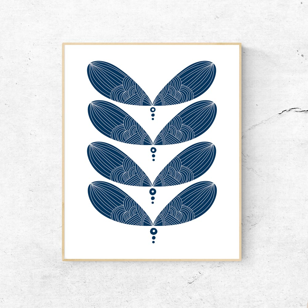 Modern scandinavian printable art