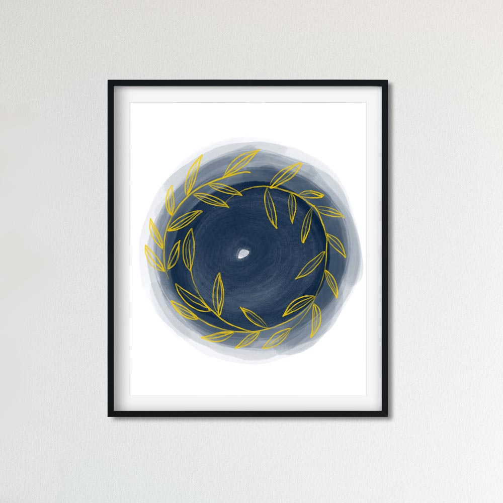 Scandinavian Round printable art