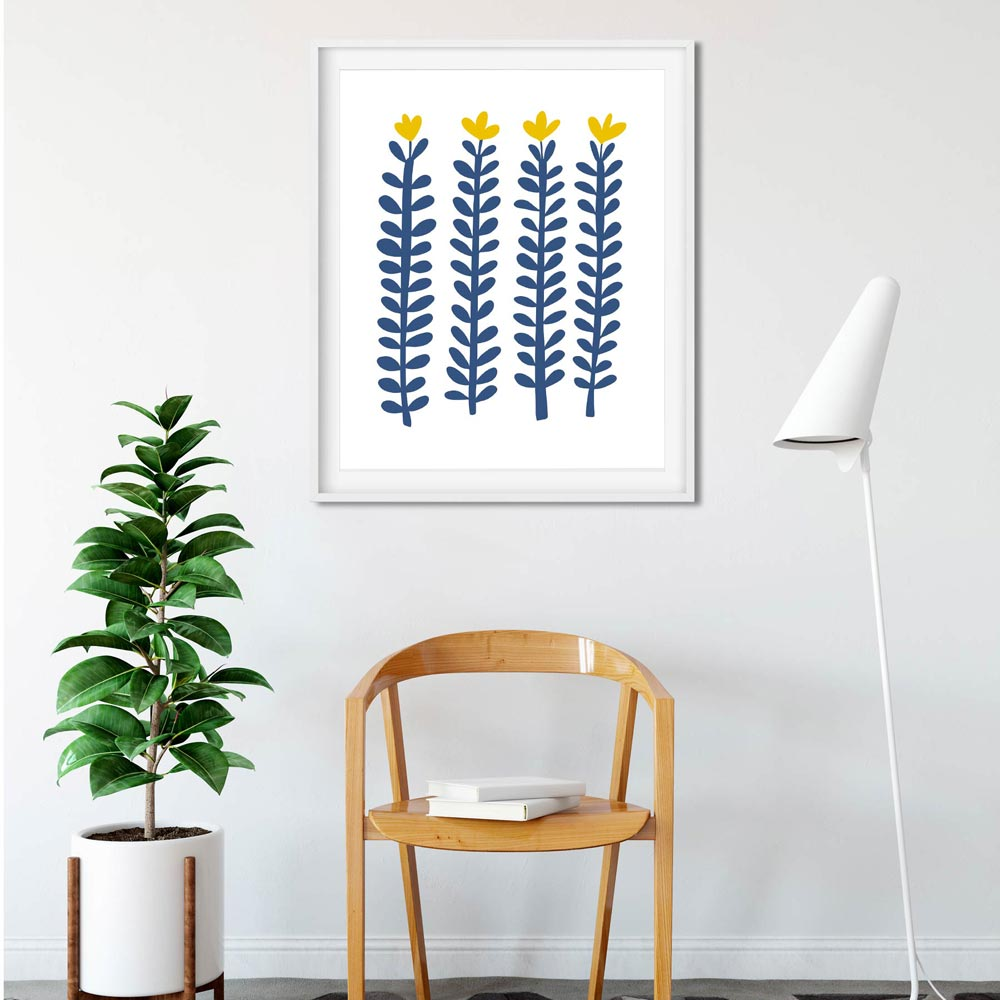 Botanical scandi art