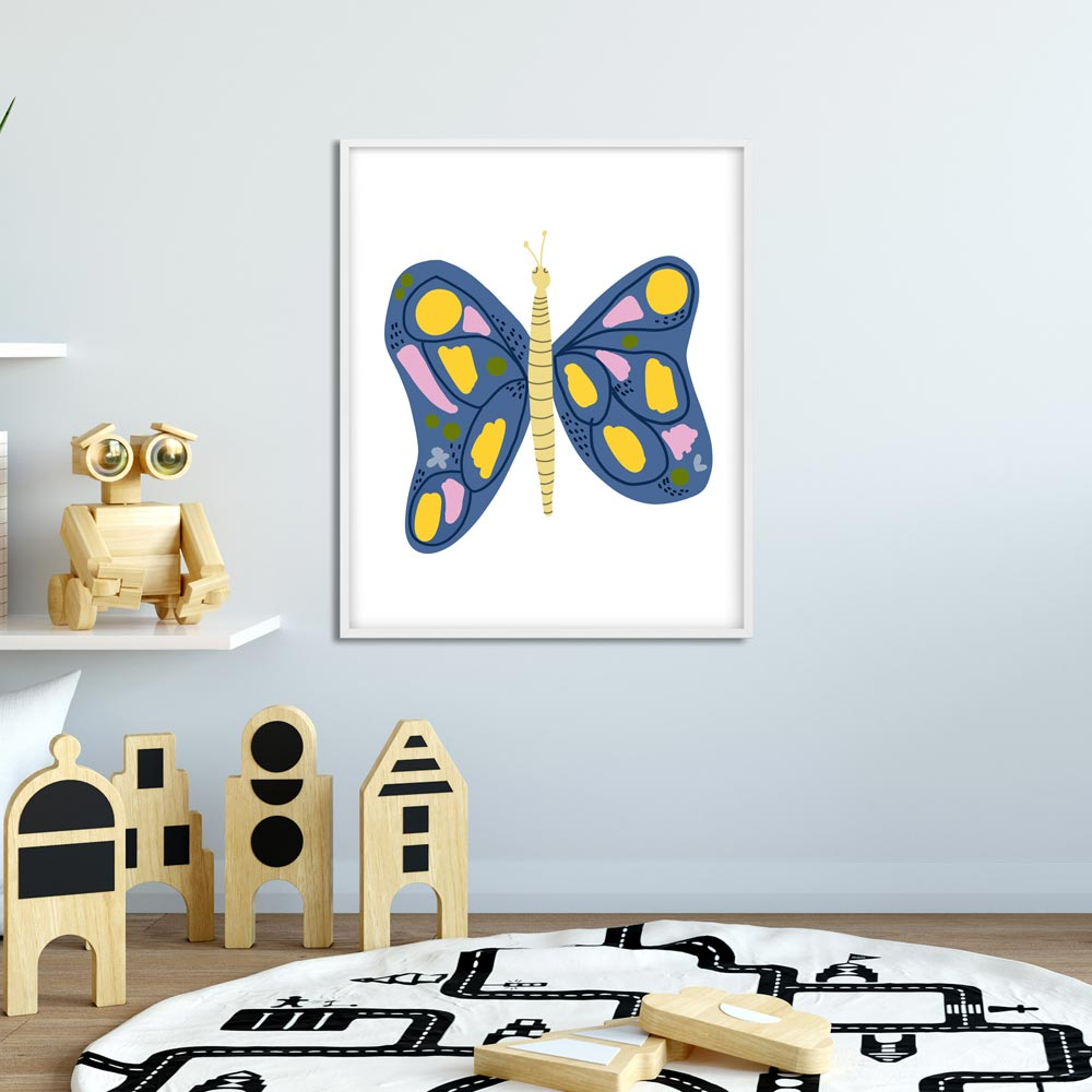 Butterfly nursery printable art