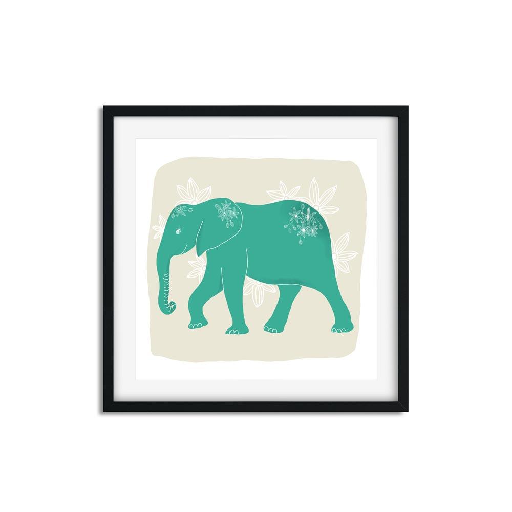Elephant nursery wall art