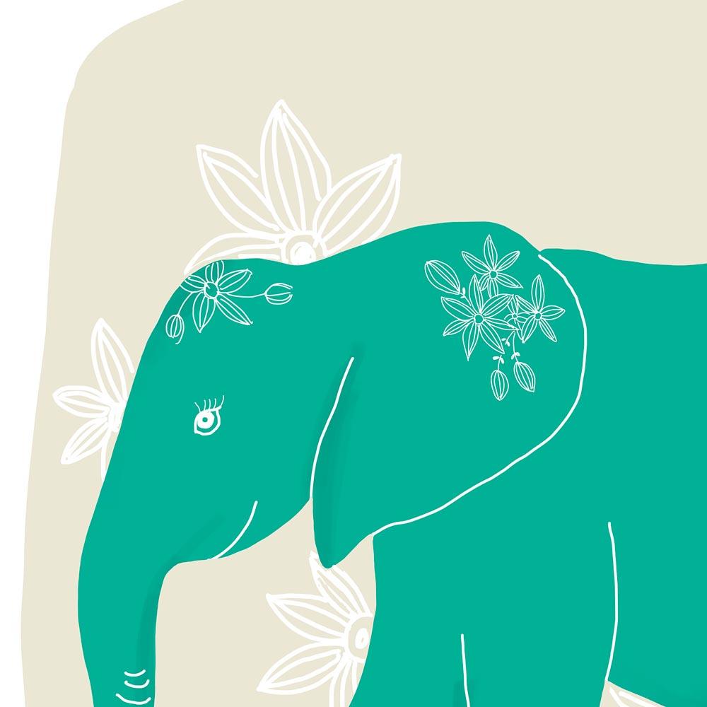 Elephant wall art fro kids