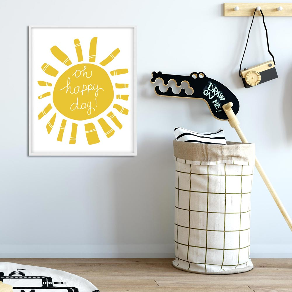 Oh happy day! Kids printable wall art