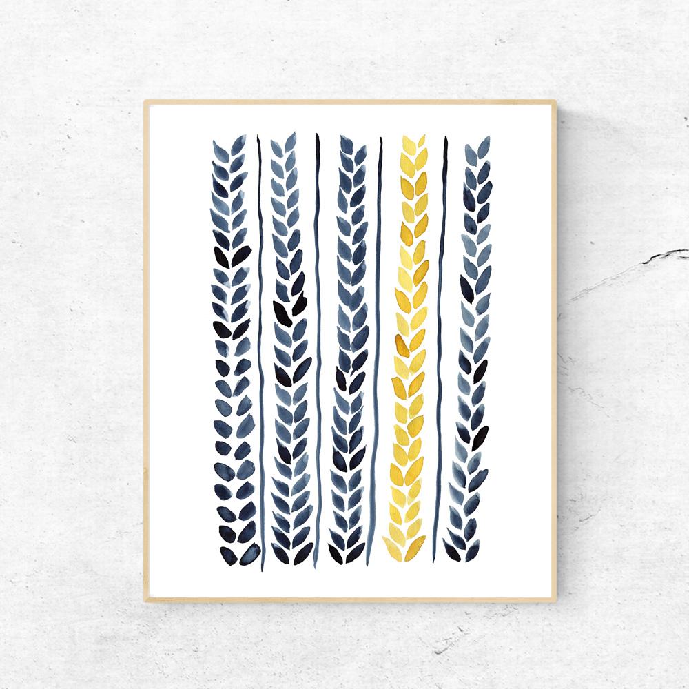Printable Wheat art