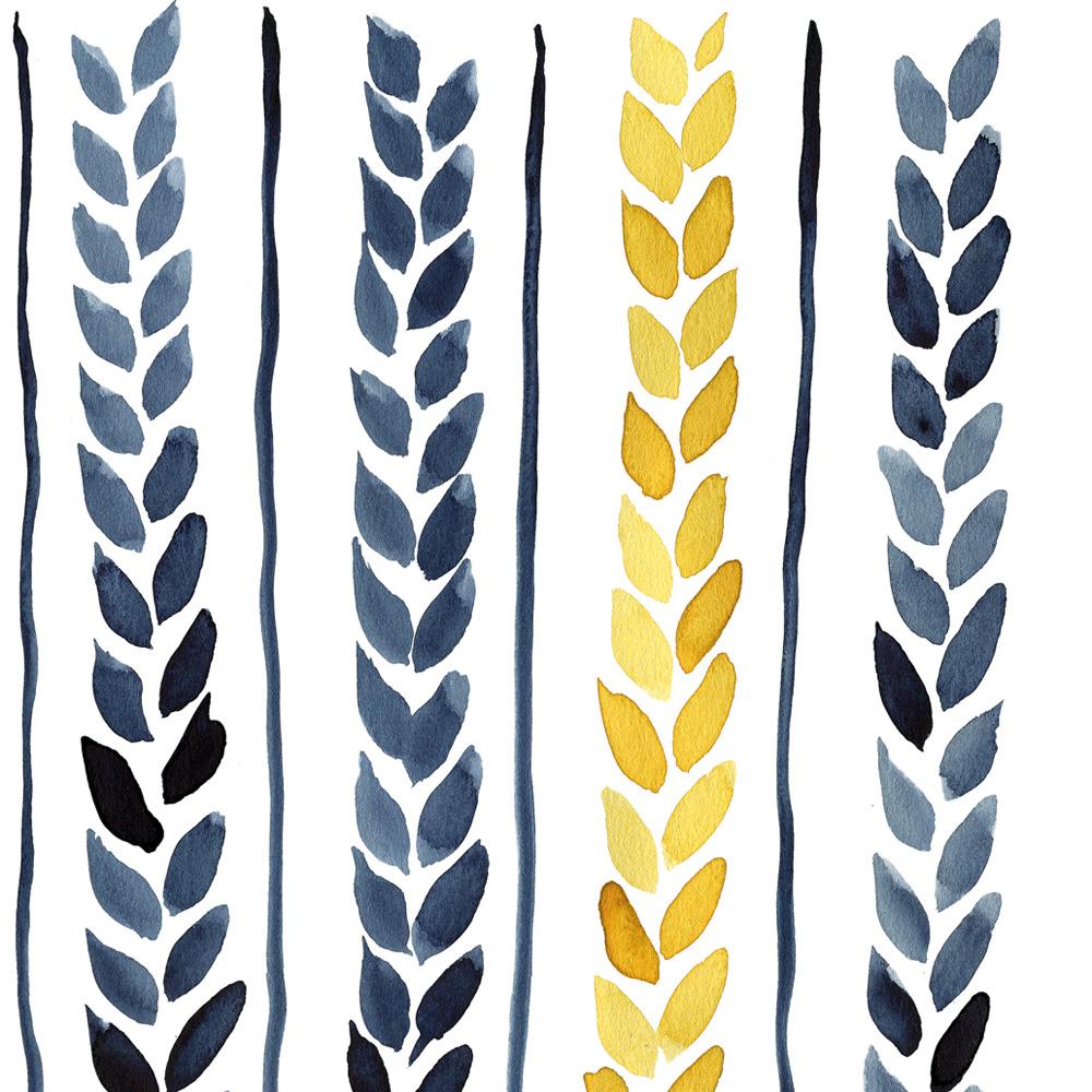 Printable Wheat detail