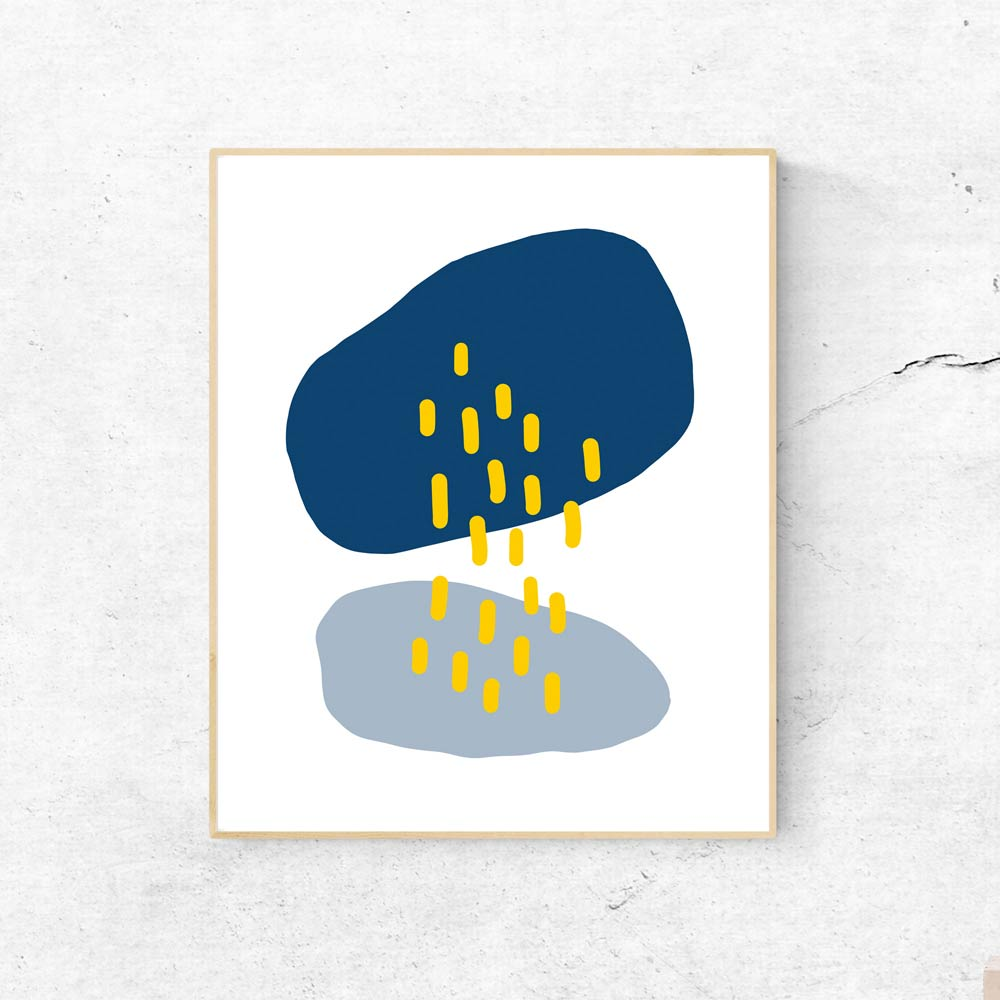 Rain Cloud printable wall art