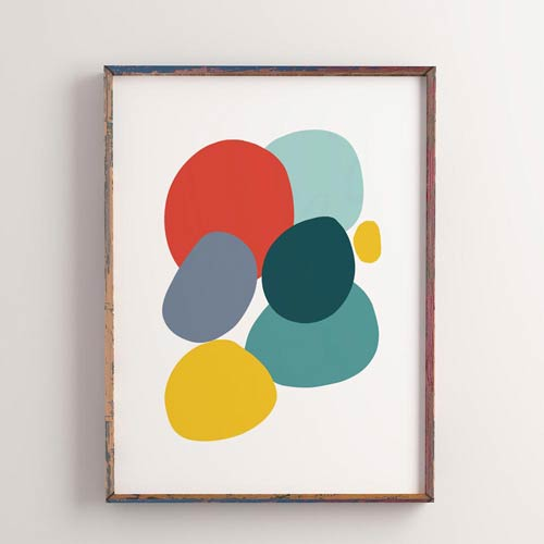 Colorful Stones art